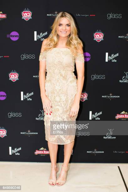 Erin Molan arrives ahead of the Channel 9 89th Academy Awards Charity Lunch at glass brasserie on February 27 2017 in Sydney Australia