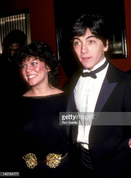 Erin Moran and Scott Baio at the 1982 American Image Awards, Sheraton Centre, New York City.