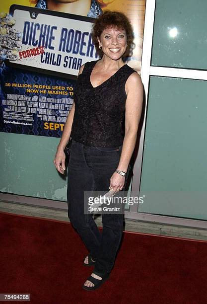 Erin Moran at the Arclight Theater in Hollywood, California