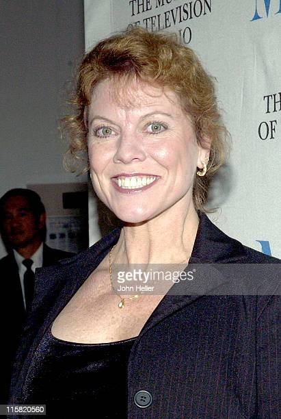"Erin Moran during ""Happy Days"" 30th Anniversary Reunion at The Museum of Television and Radio in Beverly Hills, California, United States."