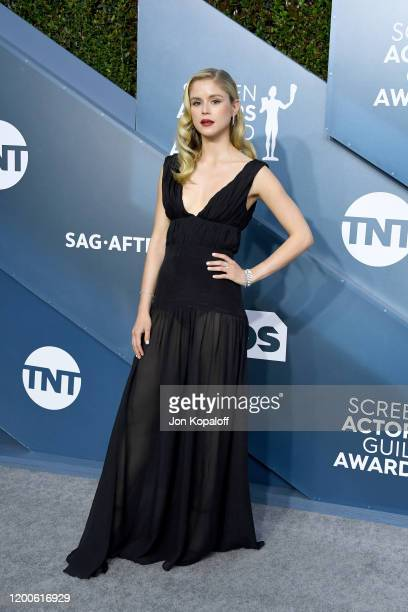 Erin Moriarty attends the 26th Annual Screen Actors Guild Awards at The Shrine Auditorium on January 19 2020 in Los Angeles California