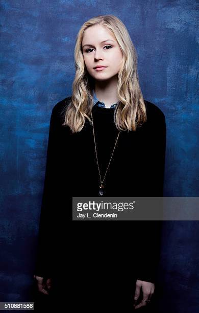 Erin Moriarty of 'Captain Fantastic' poses for a portrait at the 2016 Sundance Film Festival on January 23 2016 in Park City Utah CREDIT MUST READ...