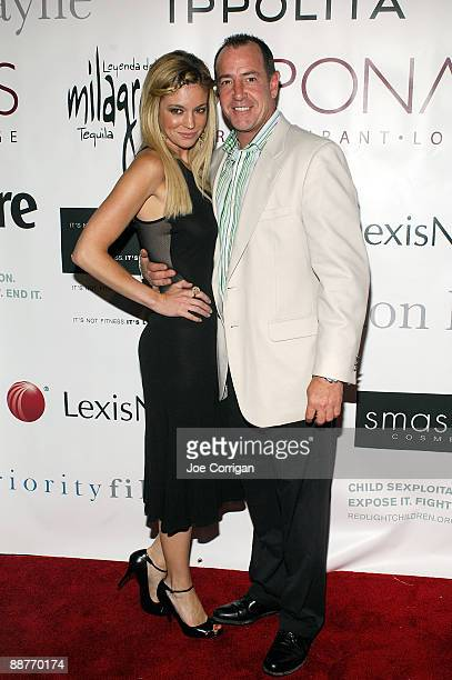 Erin Muller and Michael Lohan attend the Expose It Fight It End It fundraiser to benefit the RedLight Children Campaign at Le Poisson Rouge on June...