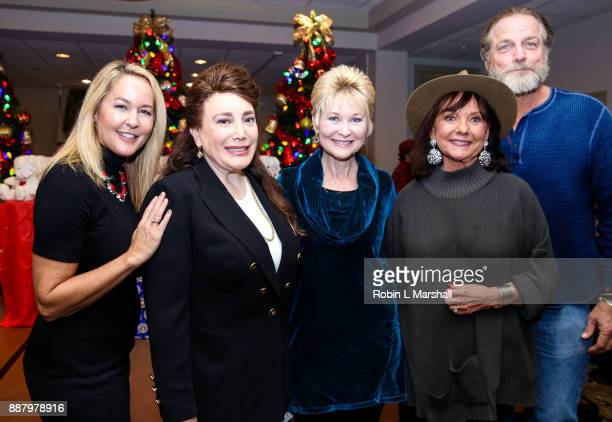Erin Murphy Donelle Dadigan Dee Wallace Dawn Wells and Darby Hinton attend the Holiday Tour of the Hollywood Museum at The Hollywood Museum on...