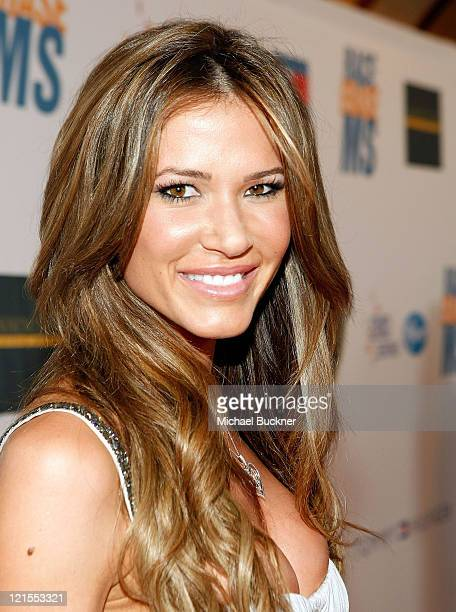 Erin Naas arrives at the 16th Annual Race to Erase MS event cochaired by Nancy Davis and Tommy Hilfiger at Hyatt Regency Century Plaza on May 8 2009...