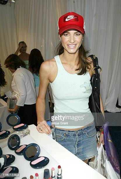 Erin Naas at Avon during Avon at the Silver Spoon Hollywood Buffet Day Two at Private Estate in Los Angeles California United States Photo by Jesse...