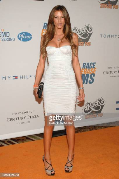 Erin Naas attends 16th Annual Race to Erase MS event cochaired by Nancy Davis and Tommy Hilfiger at Hyatt Regency Century Plaza on May 8 2009 in Los...