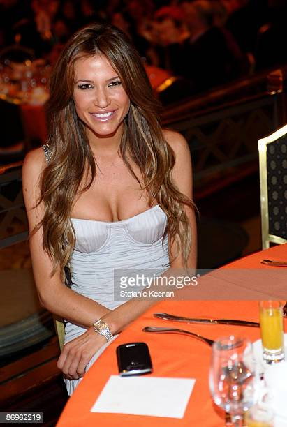 Erin Naas attends the 16th Annual Race to Erase MS event cochaired by Nancy Davis and Tommy Hilfiger at Hyatt Regency Century Plaza on May 8 2009 in...