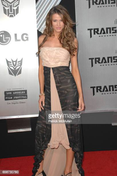 Erin Naas attends Transformers Revenge of the Fallen Premiere at Mann Village Theatre on June 22 2009 in Westwood California