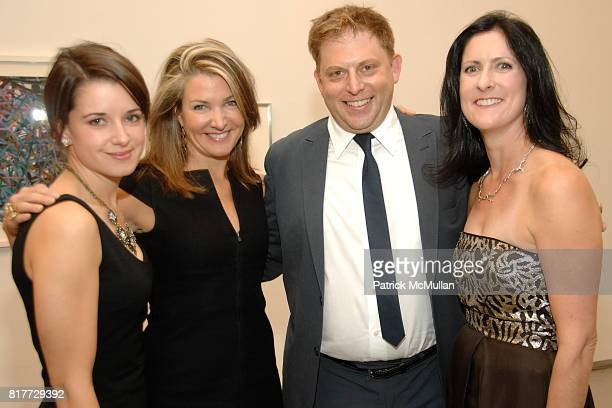 Erin Nord, Eliza Osborne, Brett Littman and Stacey Goergen attend DRAWING GIFTS 7th Annual Benefit Auction for THE DRAWING CENTER at 548 West 22nd on...