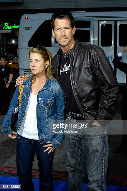 Erin O'Brien Denton and James Denton attend The Los Angeles Premiere of Blades of Glory at Mann's Chinese Theatre on March 28 2007 in Hollywood CA