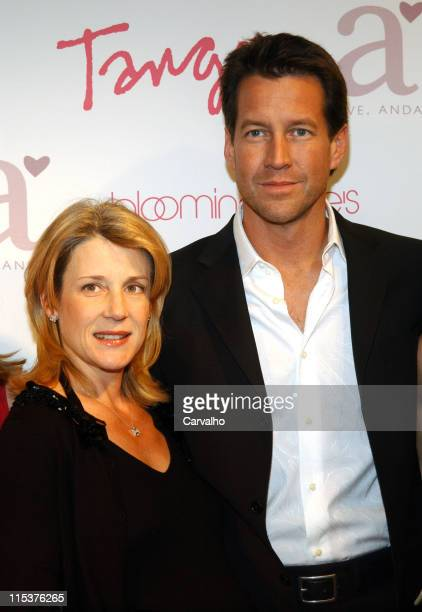 Erin O'Brien Denton and James Denton during Tango Magazine Launch with James Denton at Bloomingdale's Soho in New York City, New York, United States.