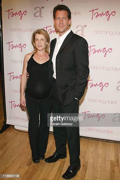 Erin O'Brien Denton James Denton during Tango magazine Launch Party held at Bloomingdale's Soho at Bloomingdale's Soho in New York New York United...