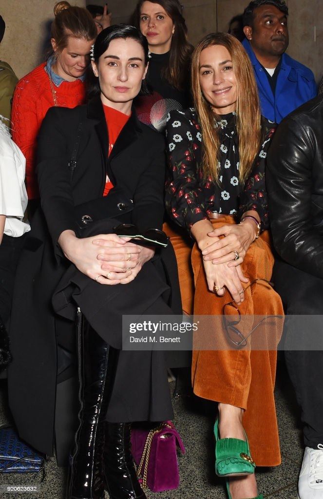 Christopher Kane - Front Row - LFW February 2018