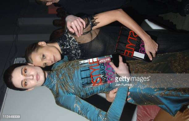 Erin O'Connor and Yasmin Le Bon during Elle Style Awards 2006 After Party at Atlantis Gallery Old Truman Brewery in London Great Britain