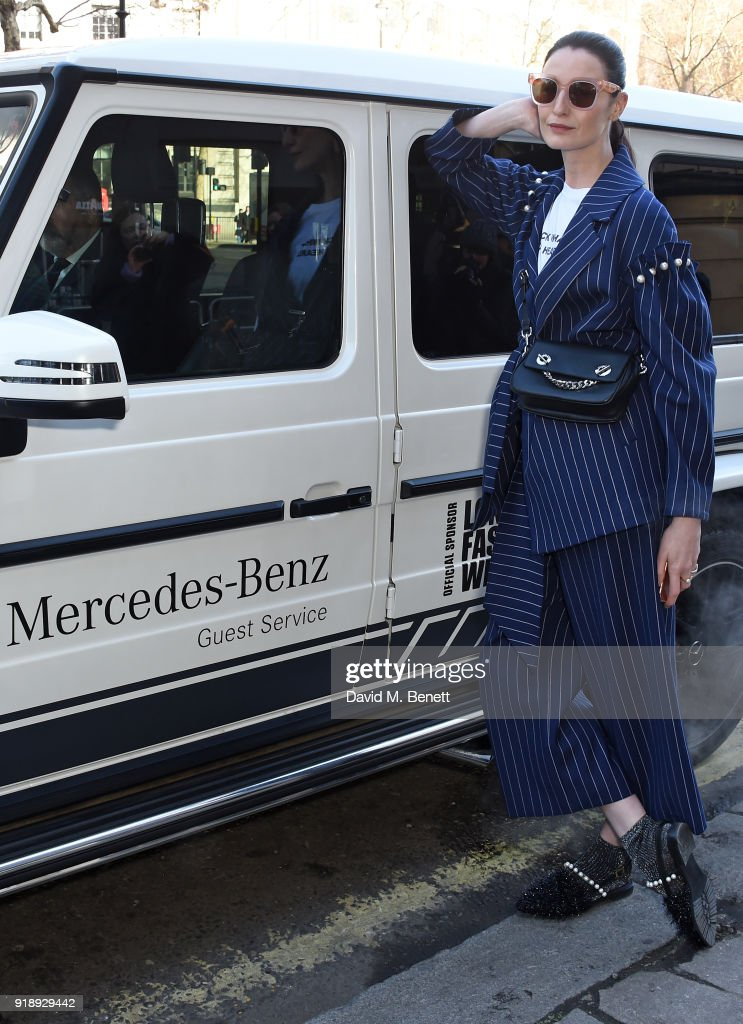 Mercedes-Benz AMG GT C Roadster And G-Class Chauffeurs The Fashion Cognoscenti To The Opening Ceremony Of London Fashion Week
