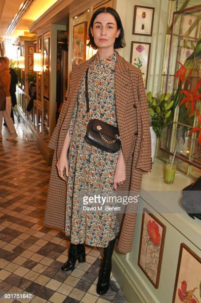 Erin O'Connor attends an exclusive wellness breakfast celebrating luxury sportswear brand Monreal hosted by Tamara Beckwith at The Ivy Chelsea Garden...