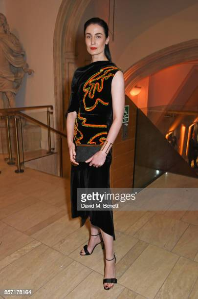 Erin O'Connor attends the BFI and IWC Luminous Gala at The Guildhall on October 3 2017 in London England