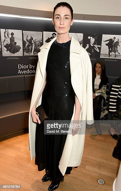 Erin O'Connor attends the 'Dior by Avedon' Book Launch at Collette on October 2 2015 in Paris France