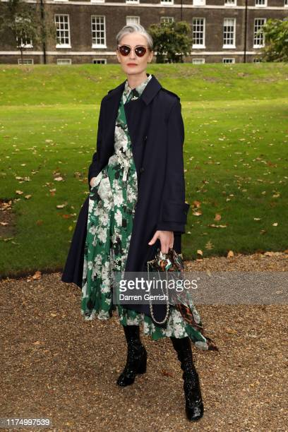 Erin O'Connor attends the Erdem show during London Fashion Week September 2019 on September 16 2019 in London England