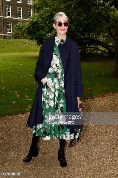 Erin O'Connor attends the Erdem show during London Fashion Week September 2019 at Grays Inn Gardens on September 16, 2019 in London, England.