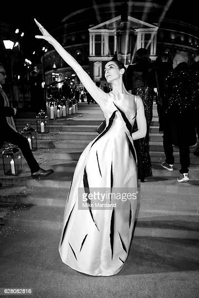 Erin O'Connor attends The Fashion Awards 2016 on December 5 2016 in London United Kingdom