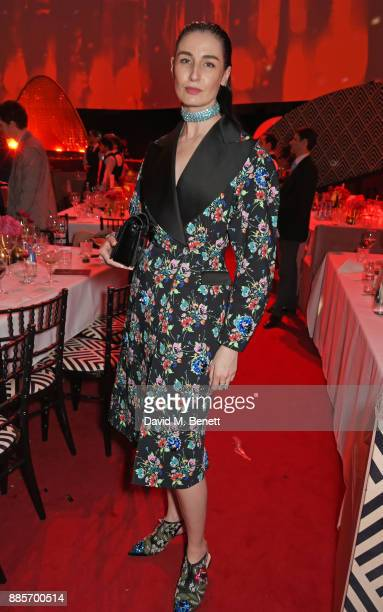 Erin O'Connor attends The Fashion Awards 2017 in partnership with Swarovski after party at Royal Albert Hall on December 4 2017 in London England