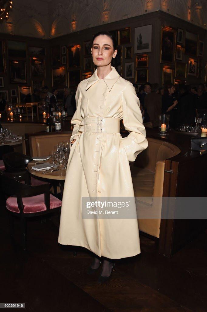 Dylan Jones & Rita Ora Host London Fashion Week Men's Dinner - LFWM January 2018 : News Photo