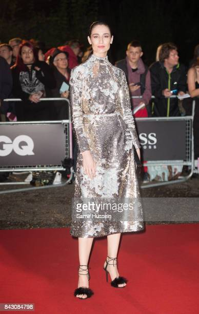 Erin O'Connor attends the GQ Men Of The Year Awards at Tate Modern on September 5 2017 in London England