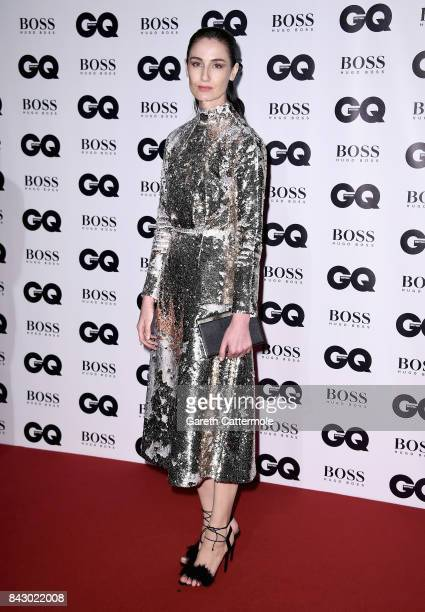 Erin O'Connor attends the GQ Men Of The Year Awards at the Tate Modern on September 5 2017 in London England