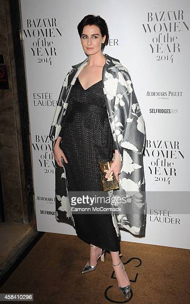 Erin O'Connor attends the Harpers Bazaar Women of the Year awards at Claridge's Hotel on November 4 2014 in London England