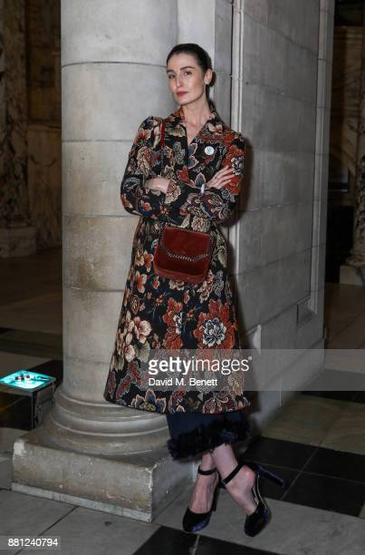 Erin O'Connor attends the launch of the Circular Fibres Initiate Report 'Towards A New Textiles Economy' hosted by Dame Ellen MacArthur and Stella...
