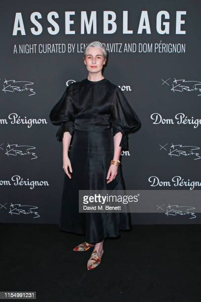 Erin O'Connor attends the Lenny Kravitz & Dom Perignon 'Assemblage' exhibition, the launch Of Lenny Kravitz' UK Photography Exhibition, on July 10,...