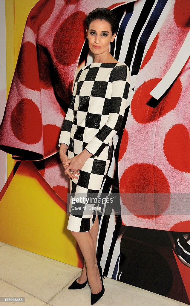 Erin O'Connor attends the opening party for The Vogue Festival 2013 in association with Vertu at Southbank Centre on April 27, 2013 in London, England.