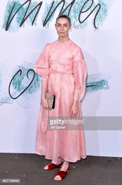 Erin O'Connor attends The Serpentine Galleries Summer Party at The Serpentine Gallery on June 28 2017 in London England