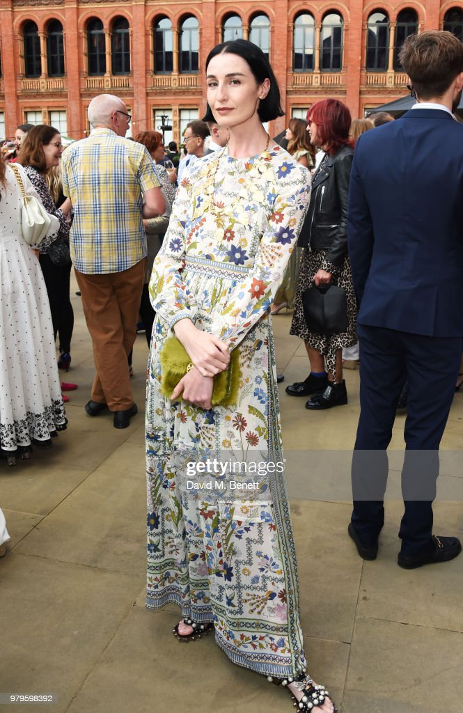 Erin O'Connor attends the Summer Party at the V&A in partnership with Harrods at the Victoria and Albert Museum on June 20, 2018 in London, England.