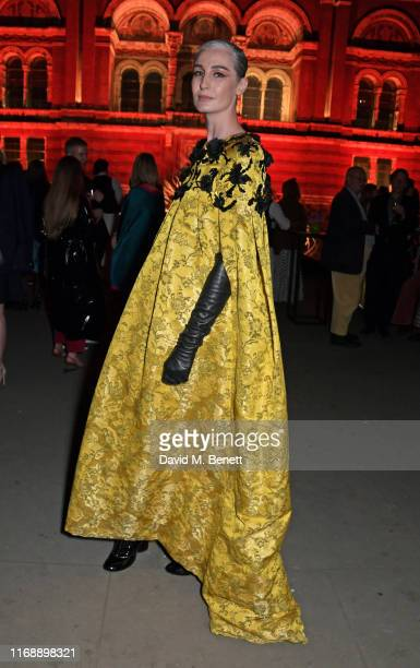 Erin O'Connor attends the Tim Walker: Wonderful Things exhibition launch at The V&A in partnership with British Fashion Council, on September 17,...