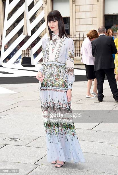Erin O'Connor attends the VIP preview of the Royal Academy of Arts Summer Exhibition 2016 at Royal Academy of Arts on June 7 2016 in London England
