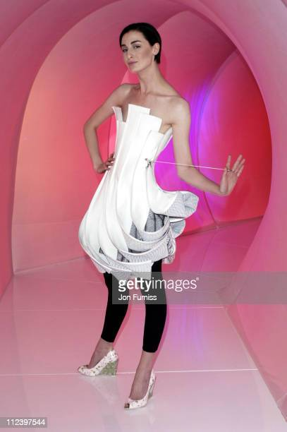 Erin O'Connor during 2005 LG Delightfully Smart Awards at Science Museum in London Great Britain