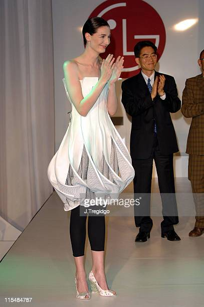 Erin O'Connor during 2005 LG Delightfully Smart Awards Inside at Science Museum in London Great Britain