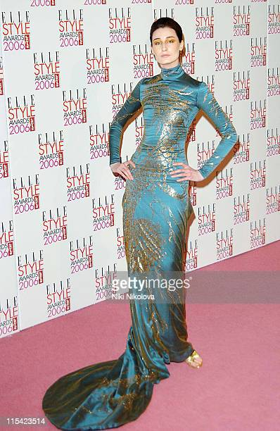 Erin O'Connor during ELLE Style Awards 2006 Arrivals at Atlantis Gallery in London Great Britain
