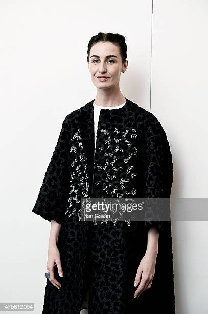 Erin O'Connor during Graduate Fashion Week sponsored by George at Asda at The Old Truman Brewery on June 2 2015 in London England