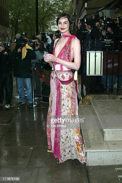 Erin O'Connor during Matthew Williamson Store Launch Party at 28 Bruton St in London Great Britain
