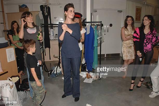 Erin O'Connor during Portobello Film Festival Fashion Show at Westbourne Studios in London Great Britain