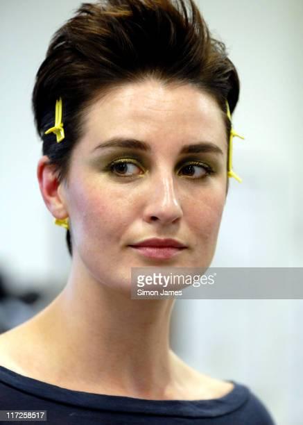 Erin O'Connor during Portobello Film Festival – Fashion Show at Westbourne Studios in London Great Britain