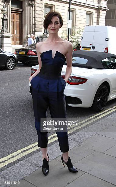 Erin O'Connor sighting on September 26 2013 in London England