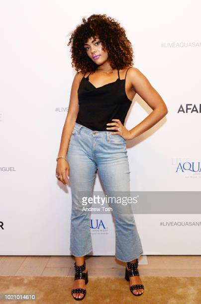 Erin Parker attends the opening of Live Aqua San Miguel de Allende presented by AFAR at Spring Place on August 21 2018 in New York City