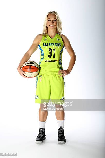 Erin Phillips of the Dallas Wings poses for a portrait during WNBA Media Day on May 5 2016 at College Park Center in Arlington Texas NOTE TO USER...