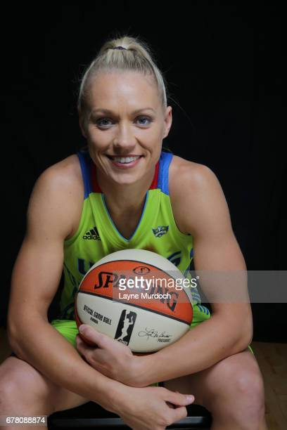 Erin Phillips of the WNBA Dallas Wings poses for portraits on May 2 2017 at College Park Center in Arlington Texas NOTE TO USER User expressly...