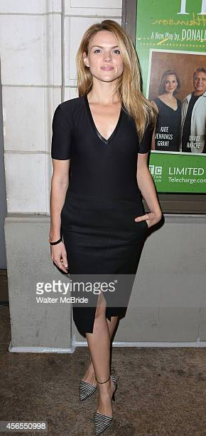 Erin Richards attends the Broadway Opening Night performance of 'The Country House' at the Samuel J Friedman Theatre on October 2 2014 in New York...